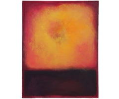 """""""Sun Creation the Vision"""" Expressionist Mark Rothko Style Painting"""