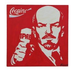 Pop Art Portrait of Vladimir Lenin