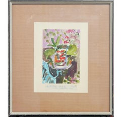 """After Matisse"" Impressionist Floral Painting"