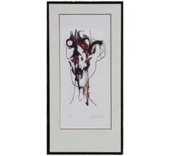 Portrait of a Screaming Man Lithograph Edition 16 of 125