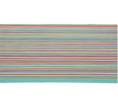 """""""Spatial Relations and The Perception of Color Number Thirteen"""" Linear Abstract"""
