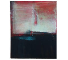 """""""Sounding I: Veiled Memories"""" Large Abstract Expressionist Painting"""