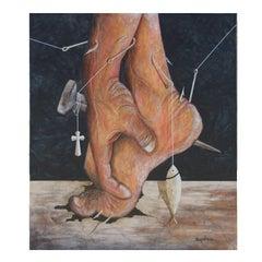 """""""De Manos y Pies"""" Realistic Surrealist Painting"""