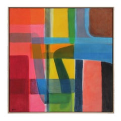 """""""Wayward"""" Color Field Contemporary Abstract Painting"""