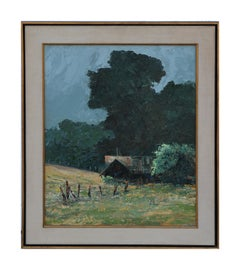 Untitled Impressionist Countryside Landscape Painting