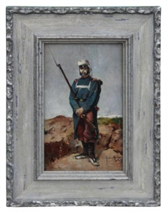 Portrait of a French Zouave Soldier