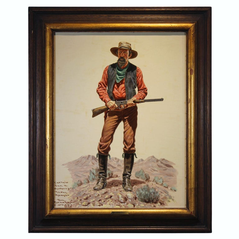 Joe Ruiz Grandee Portrait Painting - Captain McMurry