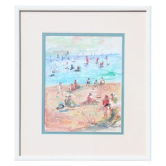 Untitled- French Impressionist Inspired Seascape