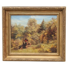 Landscape with Boy and Dog