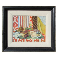 """A Matisse"" Impressionist Reclining Nude"