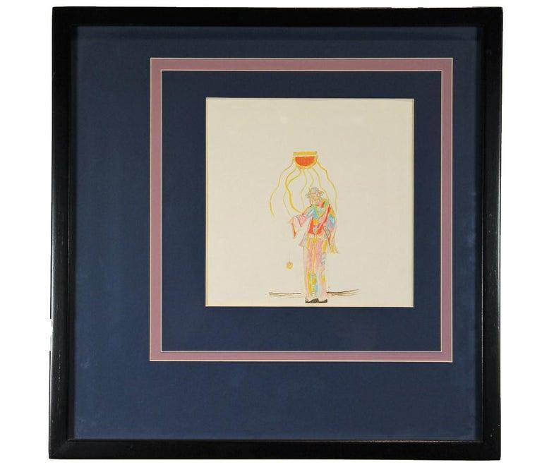 """Unknown Figurative Art - """"Profeta Joven"""" Surrealist Figurative in the Style of Salvador Dali"""