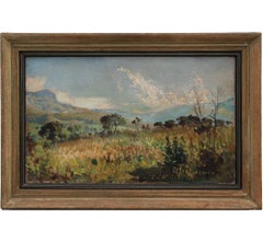 """View of Wolkberg"" Natural Impressionist South African Landscape Painting"