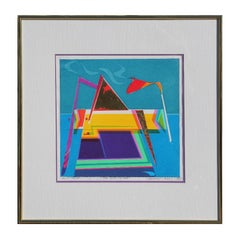"""The High Priest"" Geometric Pop Art Artist Proof"