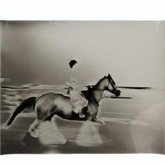 """Manor Horse"" Black and White Figurative Photograph"