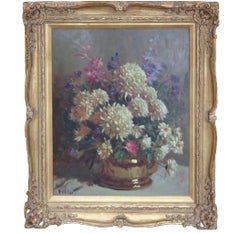 Naturalistic Impressionist Floral Still Life Painting