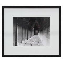 """""""Corridors of Angkor Wat"""" Angkor Wat, Cambodia Black and White Photograph"""