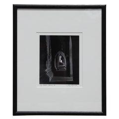 """Buddha ""Bagan"" Burma"" Black and White Photograph"