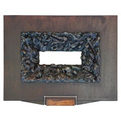 """Saddle Horn"" Contemporary Wall Sculpture"