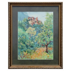 """Arroni"" Italian Natural Impressionist Landscape Painting"