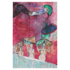 Untitled Figurative Abstract Painting