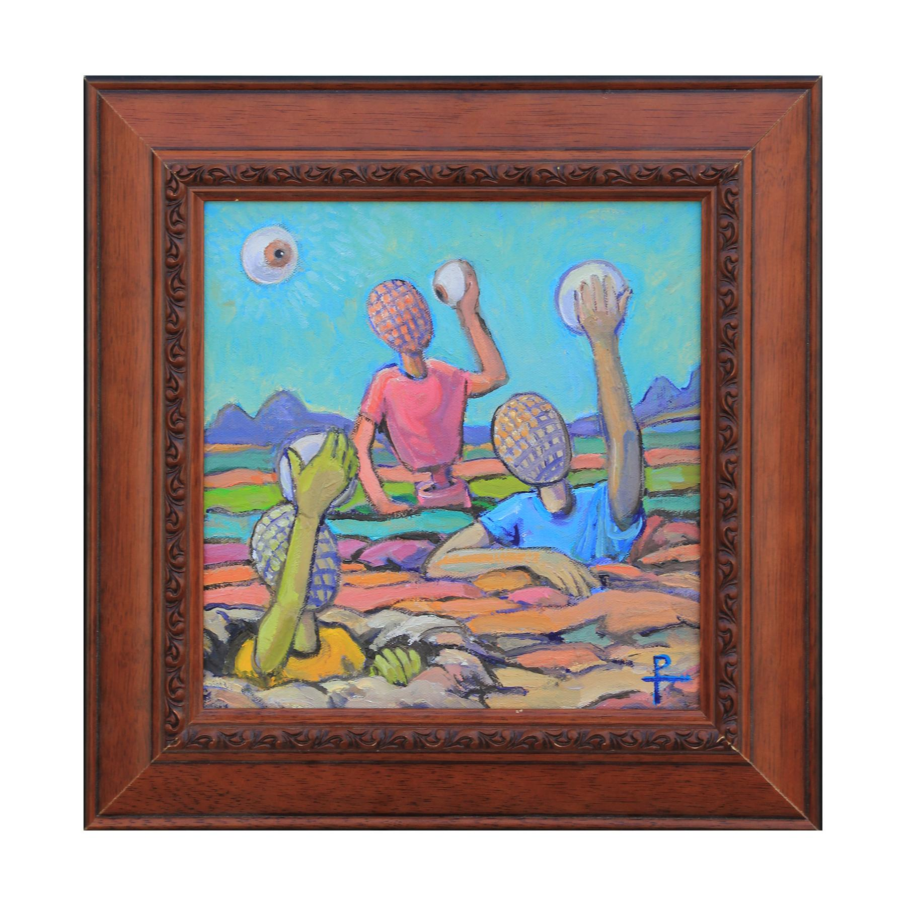 """""""Self Discovery"""" Contemporary Surrealist Landscape Painting"""