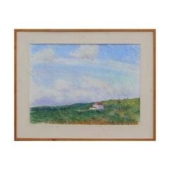 """View of Truro"" Massachusetts Village Beach House Coastal Landscape"