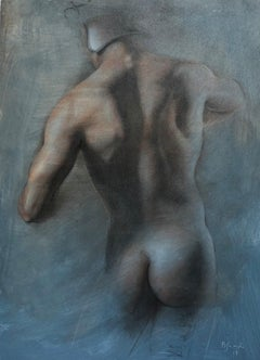 Paper Nude Drawings and Watercolors