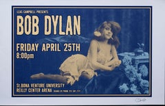 Bob Dylan Concert Poster, Signed by Uncle Charlie