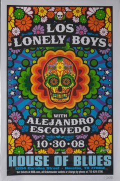 Los Lonely Boy Poster, Signed by Uncle Charlie