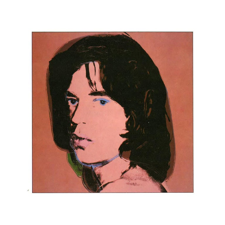 Vintage reproductive print after Warhol, Mick Jagger - Art by (after) Andy Warhol