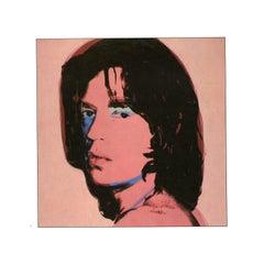 Reproductiver print after Warhol, Mick Jagger - Blue Eye Tint