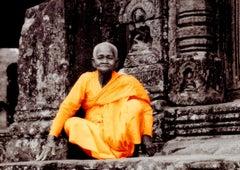 Cambodia Monk at Angkor Wat