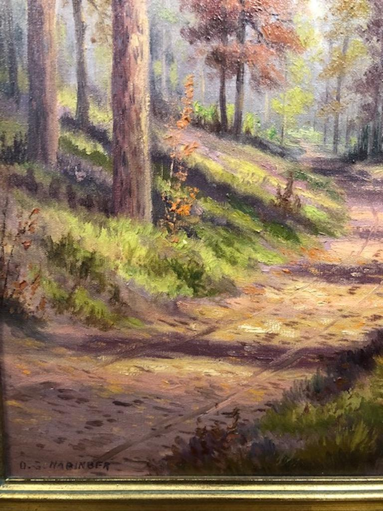 Landscape artist Dollie Spidle Nabinger was born in Commerce, Texas, raised in Victoria, Texas. Dollie is listed in
