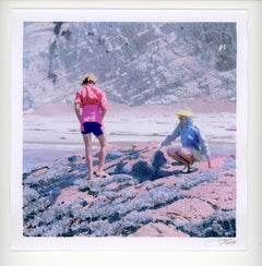 Rock Cliff (Pink Sweater)