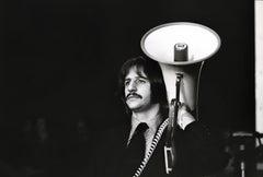 Ringo Starr with Megaphone Fine Art Print