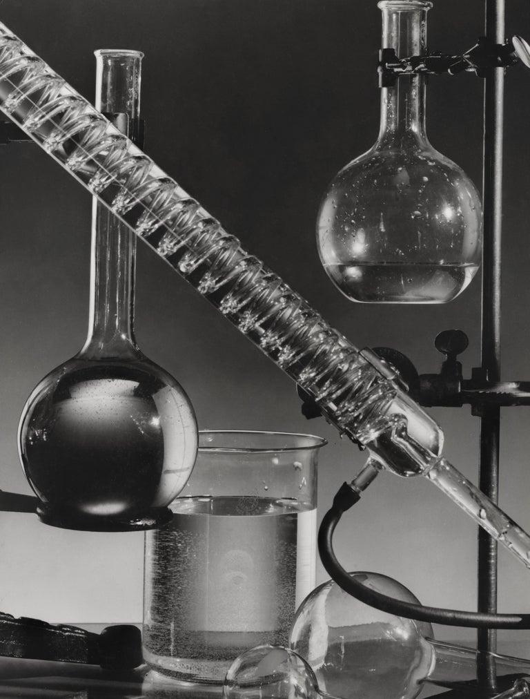 Ben McCall Black and White Photograph - Vintage Chemistry Set Fine Art Print