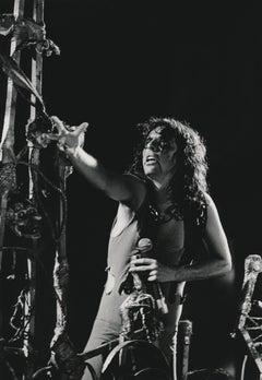 Alice Cooper on Stage Fine Art Print