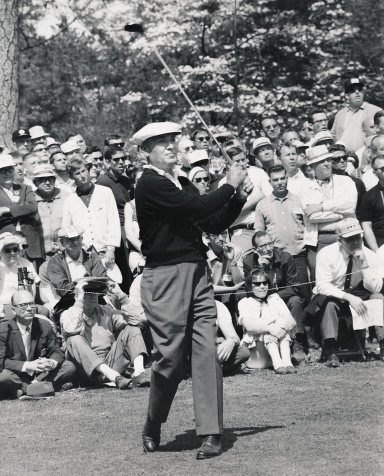 Morgan Fitz Black and White Photograph - Ben Hogan: Golf Superstar Fine Art Print