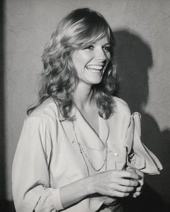 Cheryl Tiegs Candid and Laughing Fine Art Print