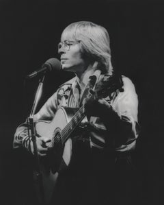 John Denver Performing on Stage Fine Art Print