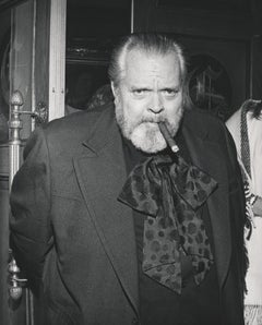 Orson Welles Candid with Cigar Fine Art Print