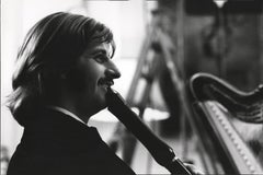 Ringo Starr Smiling with Clarinet Fine Art Print