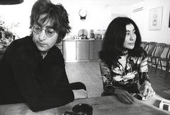 John Lennon and Yoko Ono: Alone Together Fine Art Print