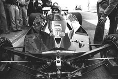 Niki Lauda Racing Fine Art Print