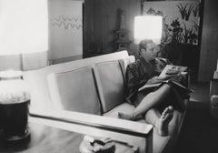 Marlon Brando Relaxing on Couch Fine Art Print