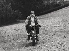 John Lennon on Motorbike Fine Art Print