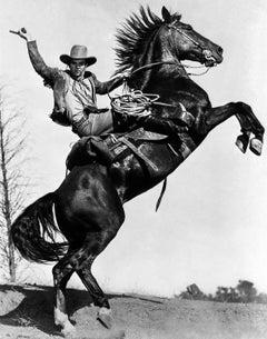 James Cagney Riding Horseback Movie Star News Fine Art Print