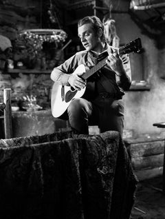 James Cagney Playing Guitar Movie Star News Fine Art Print