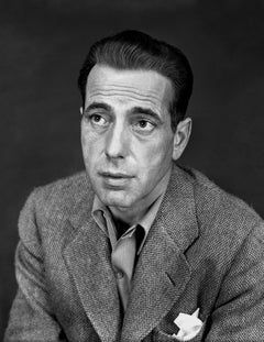 Humphrey Bogart Looking Up Movie Star News Fine Art Print