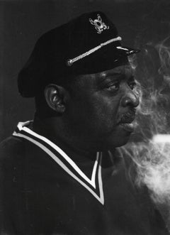 Count Basie Smoking Vintage Original Photograph